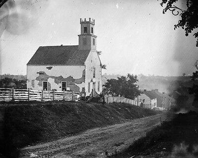 Dunker Church after Battle of Sharpsburg New 8x10 Civil War Photo Antietam