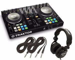 Traktor Kontrol S2 All In On Controller & Two Studio Monitors
