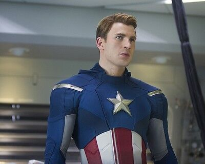 Chris Evans photo print The Avengers, Captain America