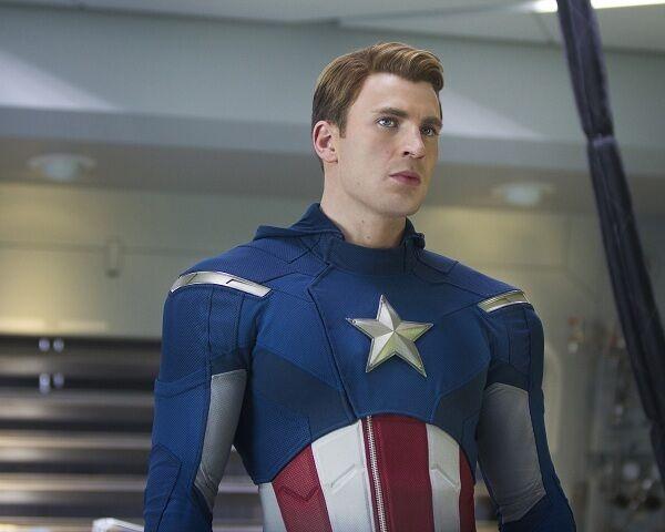 Chris Evans photo print The Avengers, Captain America