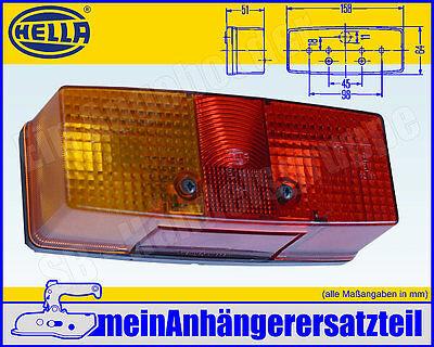 Hella Dreikammerleuchte Schluss-Brems-Blinkleuchte LINKS 2SD 003 184-031 L