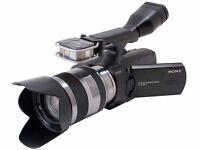Digital Camcorder - SONY NEX-VG10 - Full HD - 18-55mm Lens - £400 of EXTRAS!