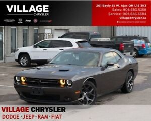 2017 Dodge Challenger SXT Plus|Nav|Leather|Sunroof|Vent Seats|Re