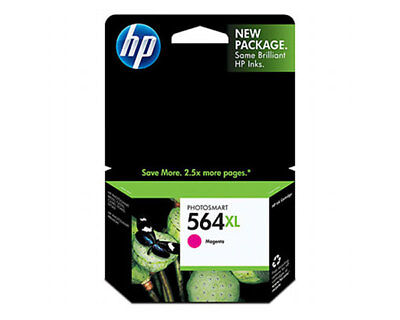 New Hp  564Xl Magenta Ink Cartridge New Generation  Genuine