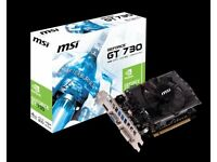 MSI Graphis Card
