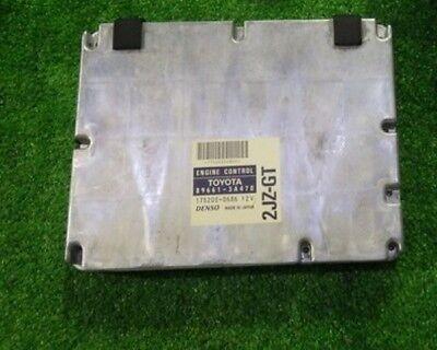 Toyota ARISTO JZS161 LEXUS GS ECU Engine Computer 2JZ GTE VVTi 89661 3A470 Japan
