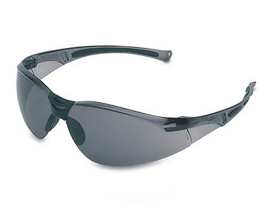 Honeywell A800 Grey Frame Temples GREY Lens TSR Hardcoat Safety Glasses
