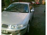 MOT SEPTEMBER ,Rover 25 Impression 1.4 , Low Mileage good runner & condition for age, silver £450