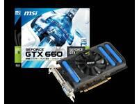 MSI GTX660 2GB DDR5