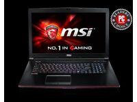 Gaming Laptop (MSI GE72 2QD)