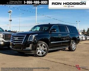 2018 Cadillac Escalade ESV ROOF NAV DVD'S 22S LOADED BLACK ON BL
