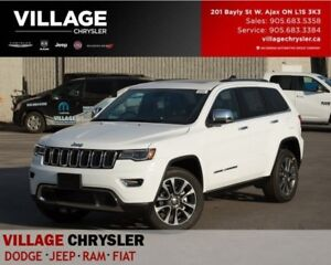 2018 Jeep Grand Cherokee Limited|4x4|Nav|Leather|Panosunroof|Lux