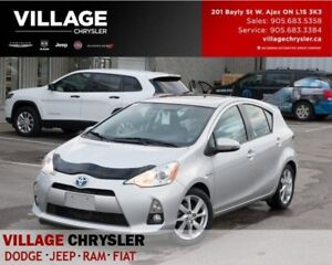 2012 Toyota Prius c Technology|Sunroof|leather|Bluetooth|Heated