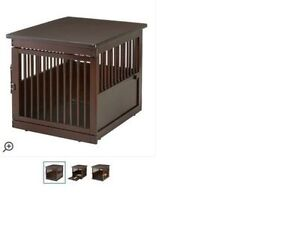 NEW WOODEN PET CRATE (NOT USED)