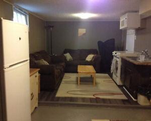 RENT IN SEPT - Close to UofS. 2 Bedroom Basement Suite