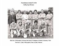 Have you any memorabilia on Fivemiletown United Football Club or fermanagh & Western