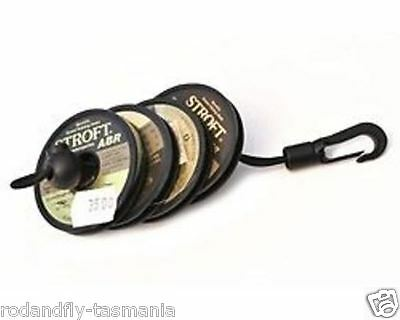 2-PACK of 25 Meter Spool of 5X Flourocarbon Tippet in Plastic Cases