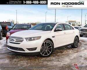 2017 Ford Taurus Limited AWD LEATHER ROOF NAV RMT START LOW KM