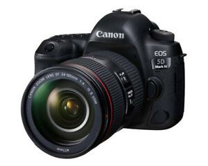Brand New Canon 5D Mark IV with EF 24-105mm f/4L IS II USM lens