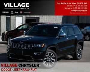 2018 Jeep Grand Cherokee Limited|Nav|Sunroof|Advan Safety|Tow