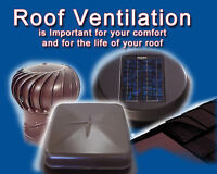 Does Your Home Have Proper Attic Ventilation,Call For Inspection
