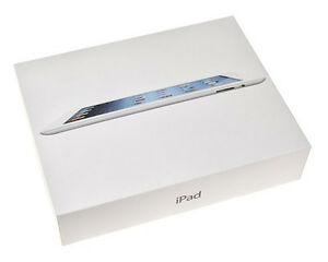 Hoping to find a box and packaging for an iPad 3