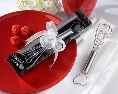Heart Whisk in Gift Box Wedding Bridal Shower Kitchen Cooking Favor MW30332 - Bridal Shower Gift