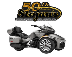 New Non Current 2017 Can-Am Spyder F3 LTD