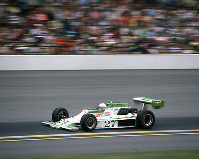 JANET GUTHRIE #27 BRYANT INDY CAR ON TRACK 8X10 GLOSSY PHOTO #3