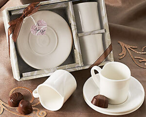 HEART SHAPED ESPRESSO CUPS  (set of 2)