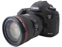 Canon 5D Mark iii Camera and Lens - 24 - 105mm f/4