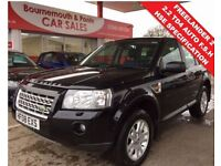 LAND ROVER FREELANDER 2 2.2 TD4 SE 5d AUTO 159 BHP JUST MOT'D AND SERVIC (black) 2008