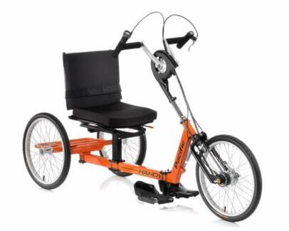 Handy Pacific Upright Hand Cycle Trike Wheelchair Adult Tricycle