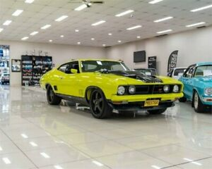 1974 Ford Falcon XB 500 Yellow 3 Speed Automatic Hardtop Carss Park Kogarah Area Preview