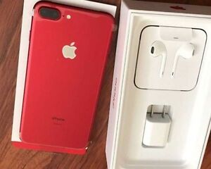 Trade Red iPhone 128GB 7 Plus for Black or Jet Black 128GB