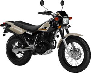 2018 YAMAHA - TW200 MOTOCYCLE