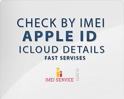 Apple Id Icloud Details By Imei Only  Name  Number  Email  50  Success Rate