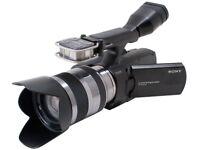 Digital Camcorder - SONY NEX-VG10 - Full HD - 18-55mm Lens - £400 in Extras.