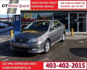 2004 Toyota Corolla Sport LOW KM | $0 DOWN - EVERYONE APPROVED!