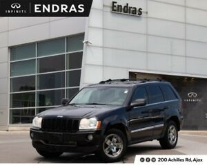 2005 Jeep Grand Cherokee Limited|4WD|Leather|Sunroof|Alooys