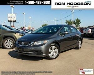 2013 Honda Civic Sdn LX AUTO HTD SEATS LOW KM