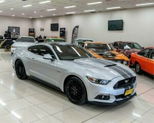 2017 Ford Mustang FM MY17 Fastback GT 5.0 V8 Silver 6 Speed Automatic Coupe Carss Park Kogarah Area Preview