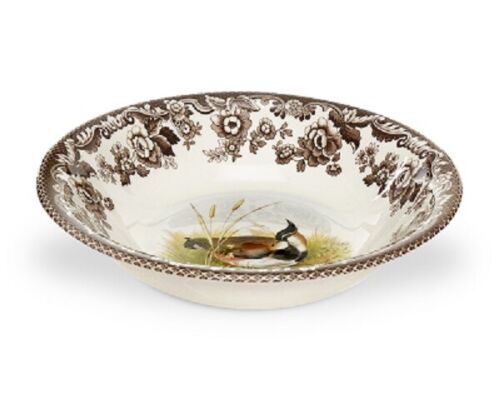 Spode woodland set of 4 Ascot  bowls- Lapwing