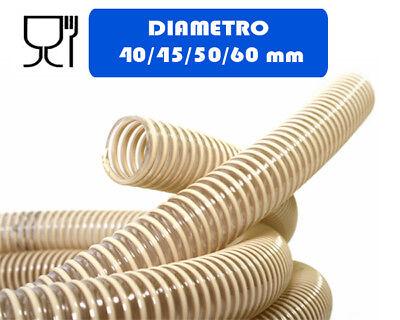 TUBO SPIRALATO PLASTICA D.40/45/50/60 MM MAGNUM A (TUBO PER POMPA )