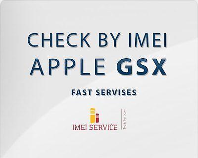 iPhone / iPad Lock Status Carrier Check / SIM-Status Checker / Apple GSX Report