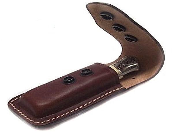 Porta coltello fodero in cuoio Vega Holster per coltelli da 10 a 13 cm cintura