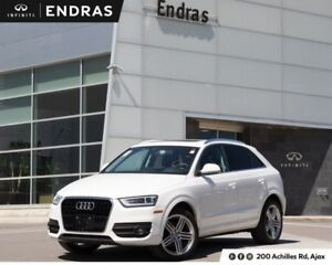 2015 Audi Q3 Progressiv|Heated Front Seats|Panoramic Sunroof