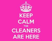 Ladies here to clean for you