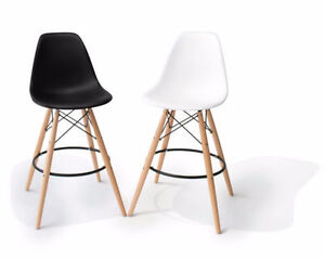 Eames Style Eiffel Bar Stool Barstool Counter Chair Restaurant Kawartha Lakes Peterborough Area image 1