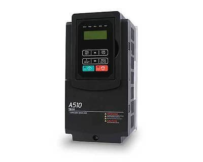 Teco Ac Drive A510-2001-c Vfd 1hp Motor Controler With Plc 13ph 230 In 230v Out